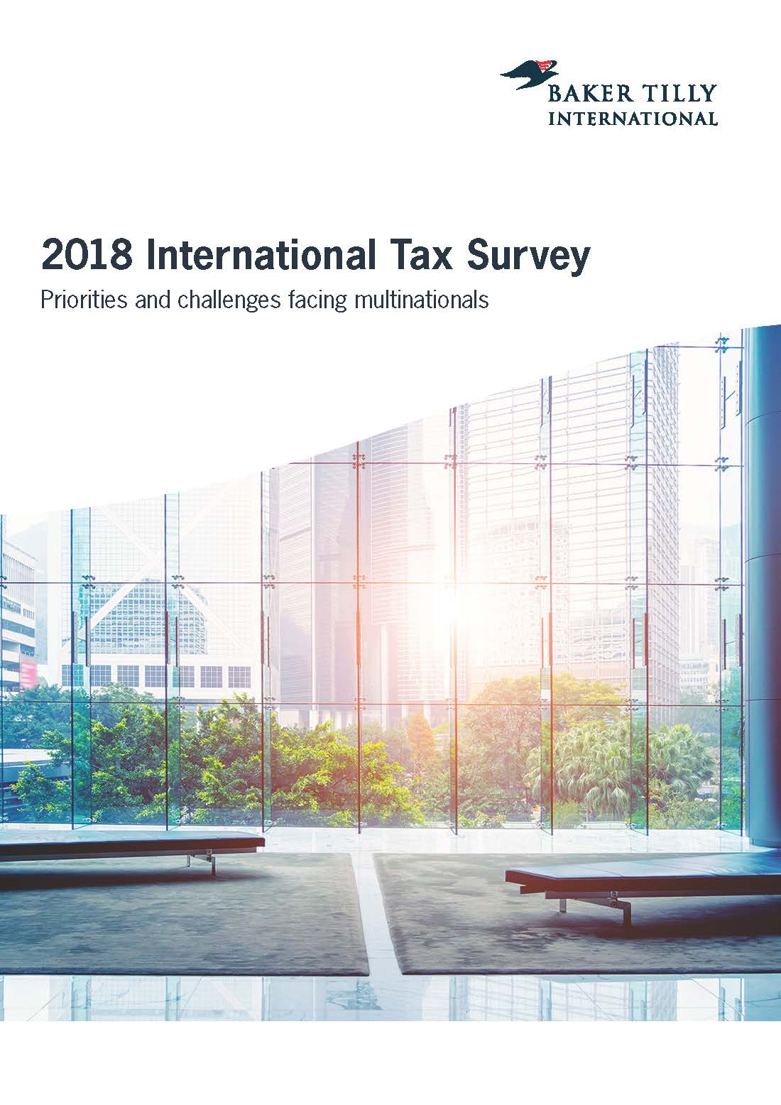 2018 International Tax Survey