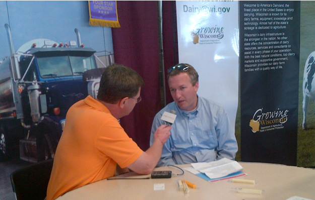 Baker Tilly's Joel Laubenstein interviewed at the World Dairy Expo.
