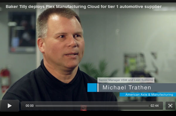 Tier 1 automotive supplier implements Plex Manufacturing Cloud ERP