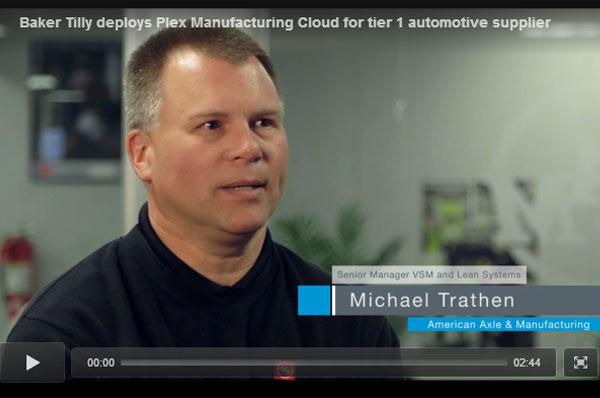 Tier 1 automotive supplier implements Plex Manufacturing Cloud ERP