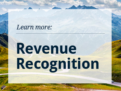 New Revenue Recognition Accounting Standard