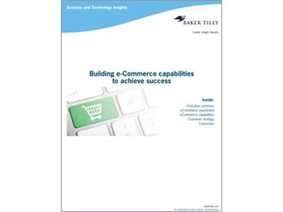 Building e-commerce capabilities to achieve success