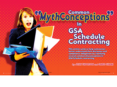 Common MythConceptions in GSA Schedule Contracting