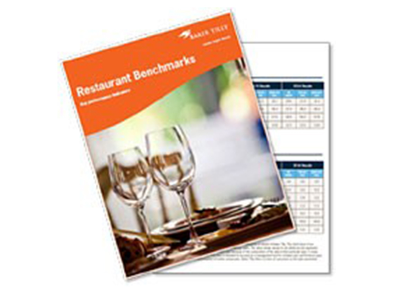 Just released! 2017 Restaurant benchmarks report