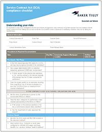 Transaction dispute checklist