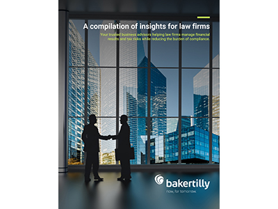 A compilation of insights for law firms