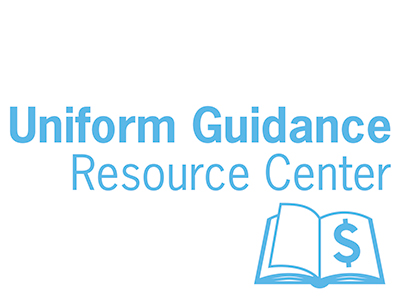 Uniform Guidance Resource Center